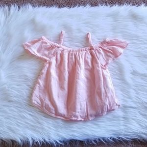 Old Navy Pink Babydoll Top Size 4T